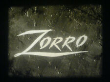 "16MM SOUND-ZORRO-""THE TIGHTENING NOOSE""-GUY WILLIAMS-1958-CUT NETWORK PRINT-7 UP"