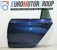 BMW Porta Posteriore Sinistro Finestra 5er F07 Gt Mare Profondo Blu Metallizzato