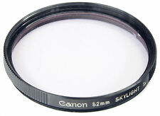 CANON 52mm Skylight