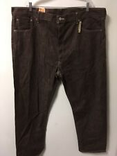 NWT LEVI'S 501 XX Men's Jeans Dark Red Burgundy Denim Button Fly Size 44 X 32