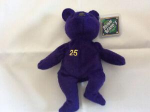 Salvino's Bamm Beano's Mark McGwire Bean Bag Plush St Louis Cardinals Purple