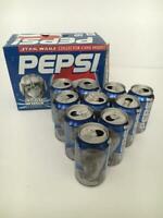 Star Wars Episode I The Phantom Menace Pepsi Anakin Skywalker Soda Can 1999