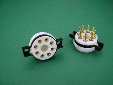 Oktal Teflon Präzisions-Röhrenfassung Gold für KT88 KT120 KT150 Röhrenverstärker