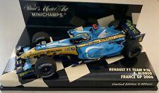 Minichamps 1:43 RENAULT F1 TEAM R26. F. ALONSO FRANCE GP 2006 E.D. 5.400 Pcs