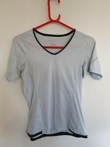 Womens Arcteryx Arc'teryx Lightweight Short Sleeve T Shirt Top Small Pale Blue