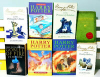 Complete Set of 7x Harry Potter Books + 1 Bonus Book by J.K. Rowling!