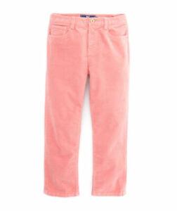 New Vineyard Vines Boys 5-Pocket Corduroy Pants in Rhubad Size 7 14 18