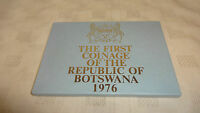 Rare The Coinage Of The Republic Of Botswana 1976 Proof Coin Set