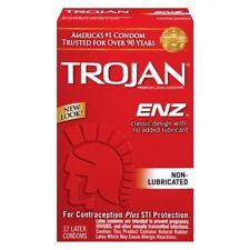 Trojan ENZ Non-Lubricated - 12 count - condoms