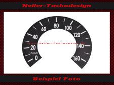 Compteur de vitesse AUTOCOLLANT YAMAHA DT 360 Année De Fabrication 1974 MPH à km/h. Speedo Sticker