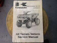 Kawasaki Manual Brute Force 750 4x4i KVF750 4x4
