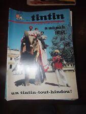 le journal de TINTIN N°1004  de 1968 - EN ROUTE POUR LES INDES