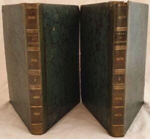 FABLES DE LA FONTAINE EN TAILLE DOUCE 1834 247 PLANCHES GOURGET FIABE FAVOLE