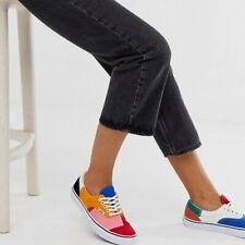 Vans Era Patchwork Skate Shoes Women's Size 7.5