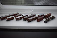 10x Güterwagen Set Starter Set Märklin Fleischmann Roco Primex *TOP & OVP*