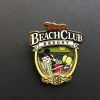 WDW - Disney's Beach Club Resort Logo - Mickey Relaxing - Disney Pin 88776