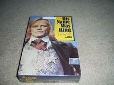 His Name Was King [VHS] 1985 All Seasons Video Big Box, Klaus Kinski, NEW, Mint