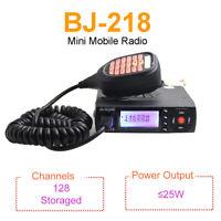 BJ-218 Car Ham Mobile Transceiver 2 Way Radio Dual Band VHF/UHF Walkie Talkie
