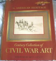 BOOK CIVIL WAR ART AMERICA HERITAGE 400 PAGES ILLUSTRATED PRINTED 1974 SEE PICS