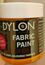 DYLON FABRIC PAINT DYE 25 ml FABRIC PAINT YELLOW 25ML 34 DARK
