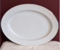 Crown Victoria Lovelace Oval Serving Platter Fine China