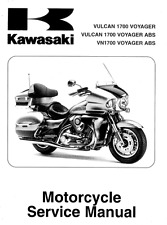 Kawasaki Vulcan 1700 Voyager 2009 2010 2011 2012 service manual in 3-ring binder