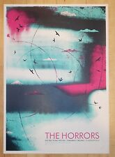 2012 The Horrors - Stradbally Ireland Silkscreen Concert Poster by Army of Cats