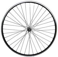 28 Zoll Vorderrad schwarz Laufrad Hohlkammerfelge