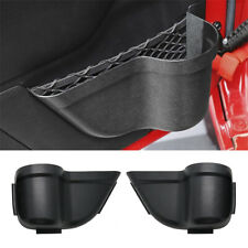 For Jeep Wrangler JK 2011-2018 Door Cup Holder Storage Pockets Organizer Box