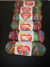 Red Heart Yarn Kids 2930 Crayon Lot of 6