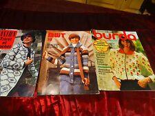 lot pourcréations laine ,crochet , 3catalogues = idées 160 pages