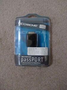 SCOSCHE IFWAHBK Home Dock passPORT Charging Adapter for iPhone & iPod