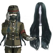 Danganronpa V3 Korekiyo Shinguji Masquerade Cosplay Wigs Long Curly Hair