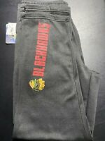 NHL Chicago Blackhawks Sweat Pants, Size Medium