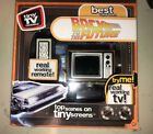 TINY TV CLASSICS BACK TO THE FUTURE REAL WORKING MINI TV WITH REMOTE For Sale