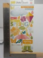 ECHO PARK PAPER HELLO SPRING CLOUDS BUTTERFLY FLOWERS CLASSIC STICKERS A11063