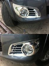 For Toyota Hilux MK7 INVINCIBLE VIGO CHAMP 2011 2012 2013 Chrome Fog Lamp Trim