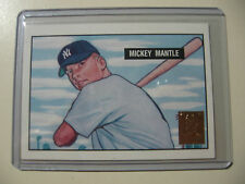 1996 Topps Mickey Mantle reprint of 1951 Bowman