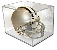 Ballqube UV Protected Mini Helmet Football Display Case BQ