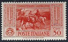 1932 REGNO GARIBALDI 30 CENT MH * - RR12266