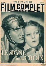 FILM COMPLET 104 27/05/1948 LE SIGNE DE LA CROIX MARCH LANDI GOLBERT LAUGHTON