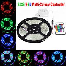 3528 SMD Stripe 5M 300 LED Strip Light RGB Ribbon Tape Roll Flexible Led Light