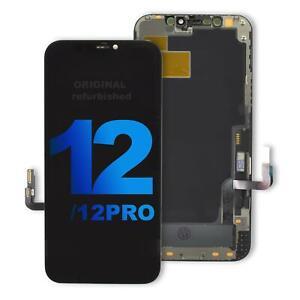 iPhone 12 und 12 Pro Original refurbished OLED Display mit Rahmen