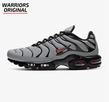 Nike Air Max Plus Gris Lobo Oscuro Humo Gris Negro Hombre Zapatillas Tamaños Disponibles