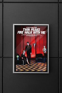 Twin Peaks Fire Walk With Me Movie Poster A3 Glossy Matte Film Print David Lynch