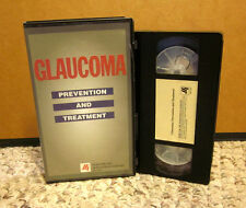 GLAUCOMA PREVENTION & TREATMENT education risk factors VHS health documentary