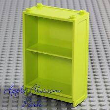 LEGO Minifig Lime BOOK SHELF Girl Boy Elf Friends Green Story Bookcase Bookshelf