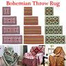 Bohemian Throw Rug Couch Sofa Lounge Chair Blanket Bed Sheet Bath Towel Mat