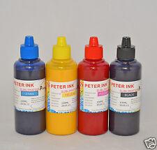 4X100ml Sublimation ink for Epson  WP-4020 WP-4530 WP-4540 printer cartridge CIS