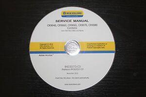 NEW HOLLAND CR9040 CR9060 CR9065 CR9070 CR9080 COMBINE SERVICE MANUAL